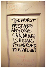 Schrijven over fouten